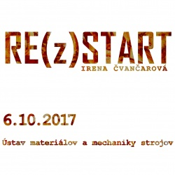 Irena Čvančarová's RE(z)START exhibition